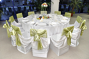 Wedding reception decor - wedding planner course