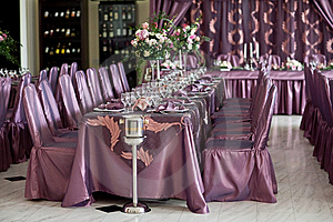 Wedding Planners Coordinate Wedding Reception Tables