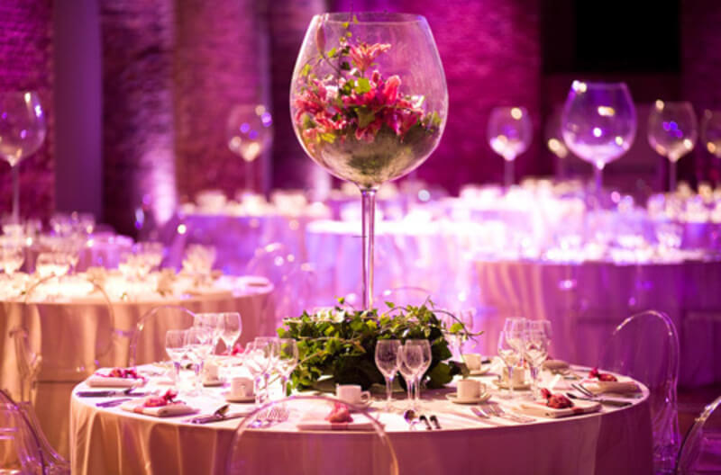 tall glass wedding table centerpieces weddings On glass centerpieces for wedding tables