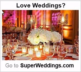 Wedding table decor When you enroll in the SuperWedding Certification