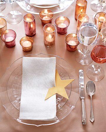 DIY Wedding Table Decorations - Star Napkin Holder
